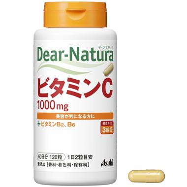 Viên Uống Asahi Dear Natura Bổ Sung Vitamin C 120 Viên - TPCN009