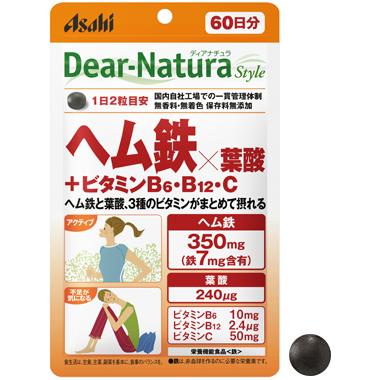 ヘム鉄×葉酸+ビタミンB6・B12・C...